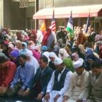 Muslim worship on Park Avenue NYx