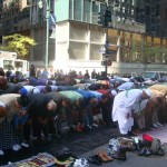 Muslims worshipping in NYC daily